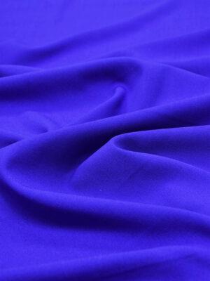 Креп шерстяной синий электрик (5406) - Фото 12