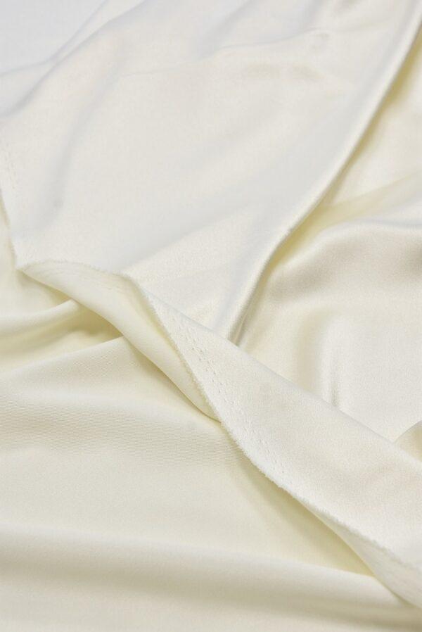 Кади креп-атлас молочный (5460) - Фото 9