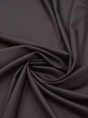 Костюмная шерсть стрейч серо-коричневая (5520) - Фото 14