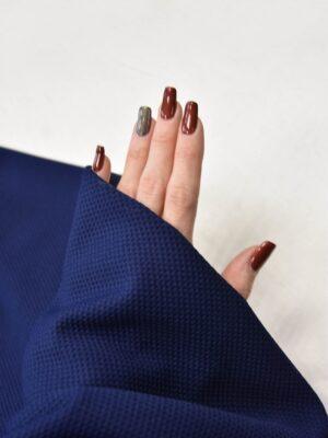 Трикотаж пике темно-синий (5587) - Фото 19