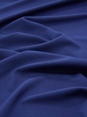 Трикотаж пике темно-синий (5587) - Фото 18