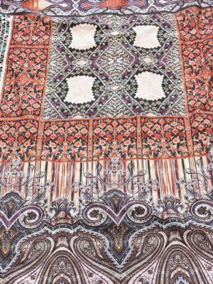Твил купон с узорами Востока в стиле пэчворк (5594) - Фото 14