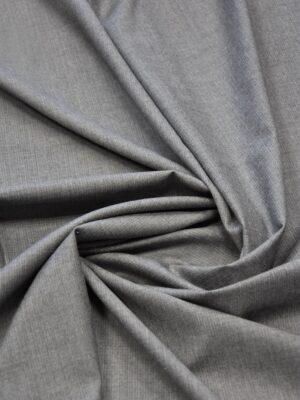 Костюмная шерсть серый меланж (5662) - Фото 14