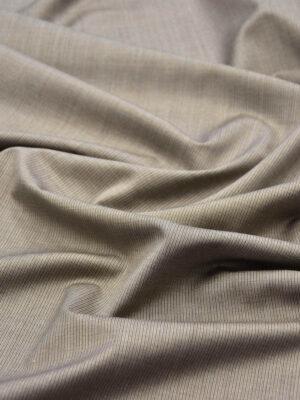Костюмная шерсть беж в мелкую полоску (5681) - Фото 17
