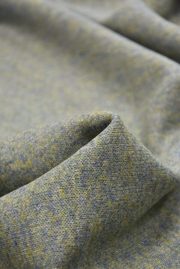 Джерси двухсторонний оливковый/голубой (5697) - Фото 9