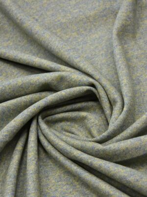 Джерси двухсторонний оливковый/голубой (5697) - Фото 16