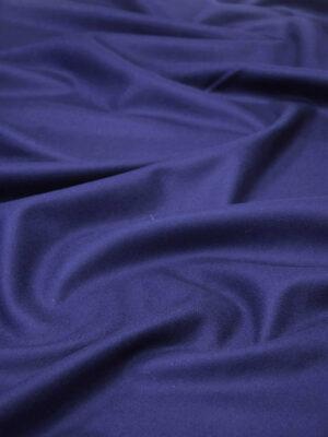 Пальтовая шерсть без ворса темно-синяя (5845) - Фото 15