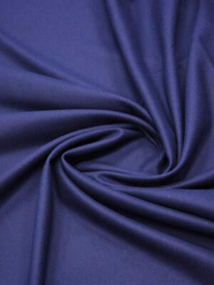 Пальтовая шерсть без ворса темно-синяя (5845) - Фото 16