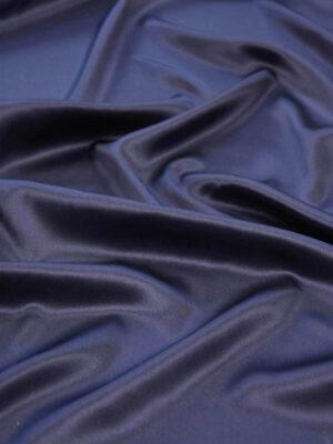 Шелк стрейч атласный черничный (5863) - Фото 13