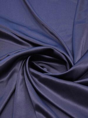 Шелк стрейч атласный черничный (5863) - Фото 14