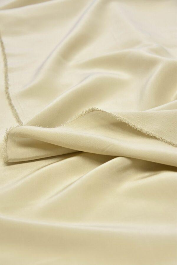 Крепдешин шелк крем-брюле (5892) - Фото 9