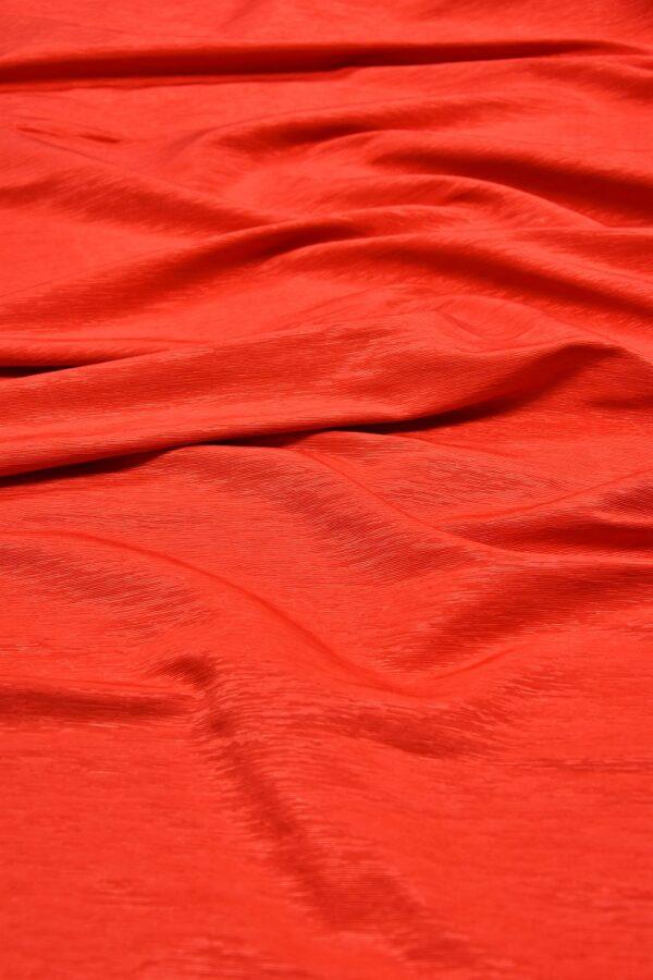 Репс ярко-красный фактурный с блеском (5950) - Фото 6