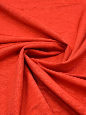 Репс ярко-красный фактурный с блеском (5950) - Фото 13