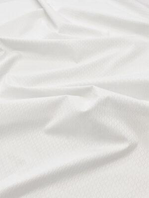Пике стрейч белый в ромбик (6020) - Фото 13