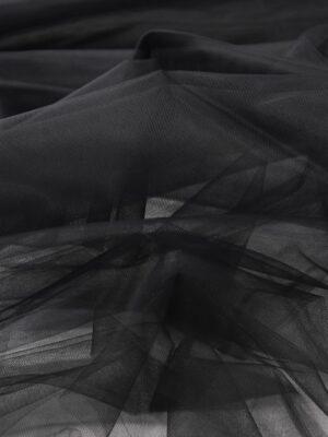 Фатин сетка черного цвета (6031, 2240) - Фото 13