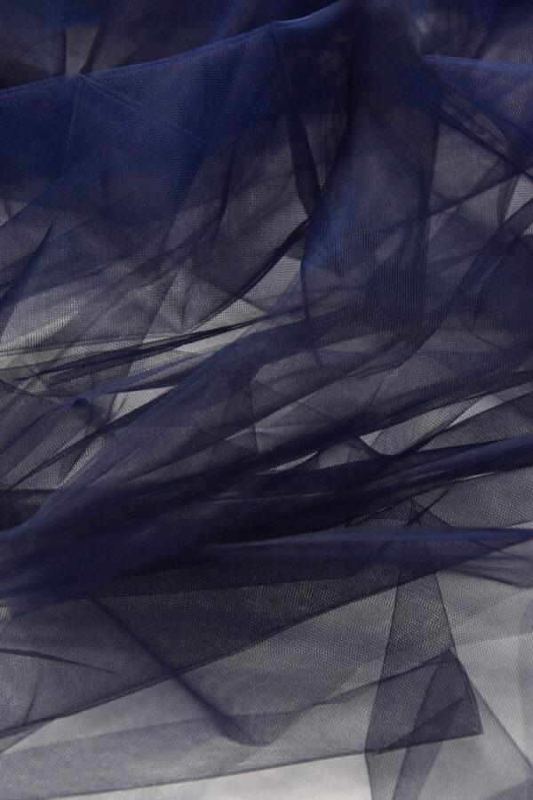 Фатин оттенок черника жесткий (6032) - Фото 6
