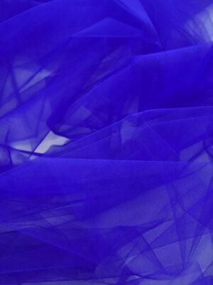 Фатин ярко-синий жесткий (6033, 2236) - Фото 14
