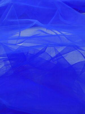 Фатин синий электрик жесткий (6034) - Фото 14