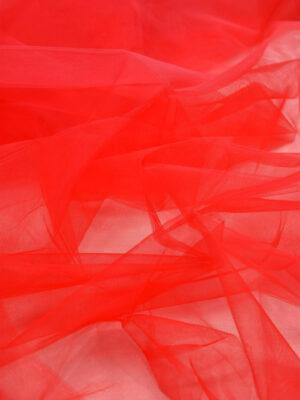 Фатин сетка красный (6035, 2227) - Фото 18