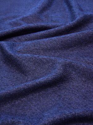 Букле трикотаж темно-синий оттенок (6089) - Фото 17