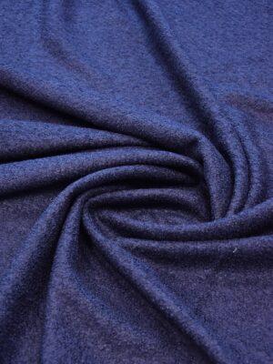 Букле трикотаж темно-синий оттенок (6089) - Фото 18