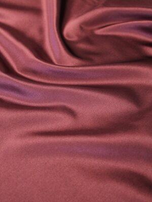 Шелк дюшес атласный марсала (6331) - Фото 16