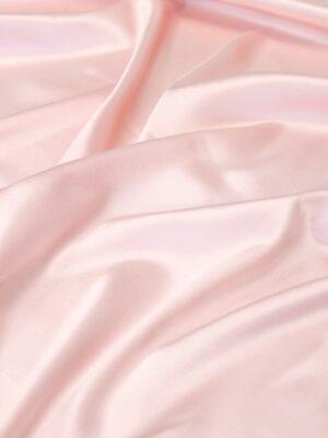 Шелк стрейч розовый зефир атласный (6333) - Фото 10