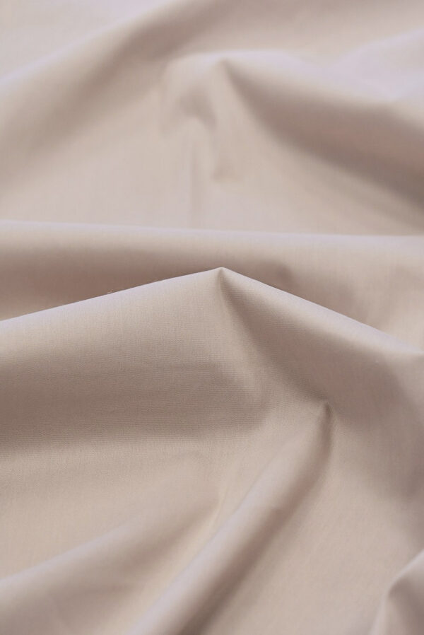 Хлопок стрейч рубашечный пудрового оттенка (6501) - Фото 9