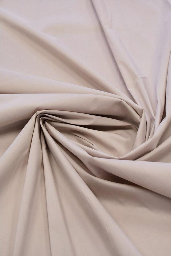 Хлопок стрейч рубашечный пудрового оттенка (6501) - Фото 7
