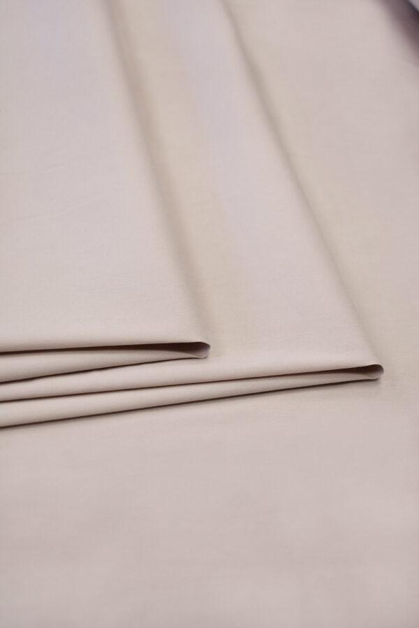 Хлопок стрейч рубашечный пудрового оттенка (6501) - Фото 8