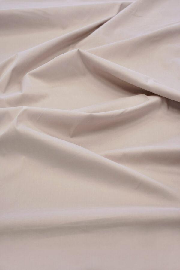 Хлопок стрейч рубашечный пудрового оттенка (6501) - Фото 6