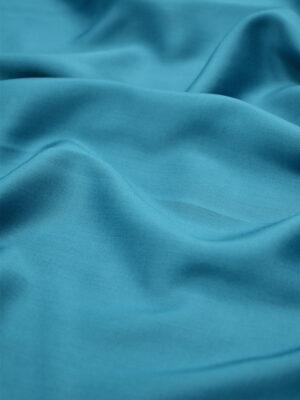 Штапель шелковый оттенок бирюза (6625) - Фото 12