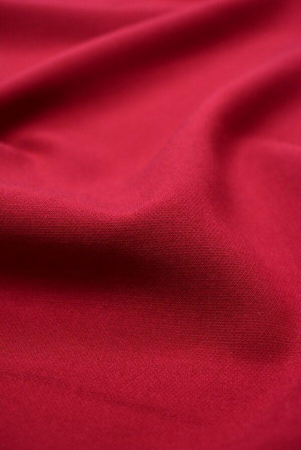 Дабл креп бордовый оттенок (6628) - Фото 10
