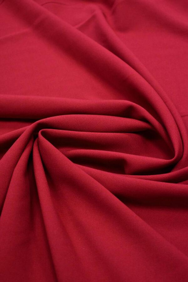 Дабл креп бордовый оттенок (6628) - Фото 8
