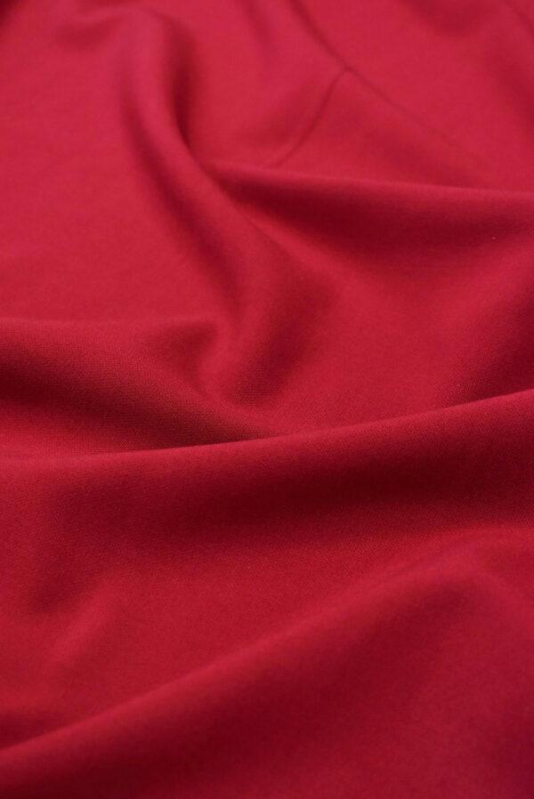 Дабл креп бордовый оттенок (6628) - Фото 6