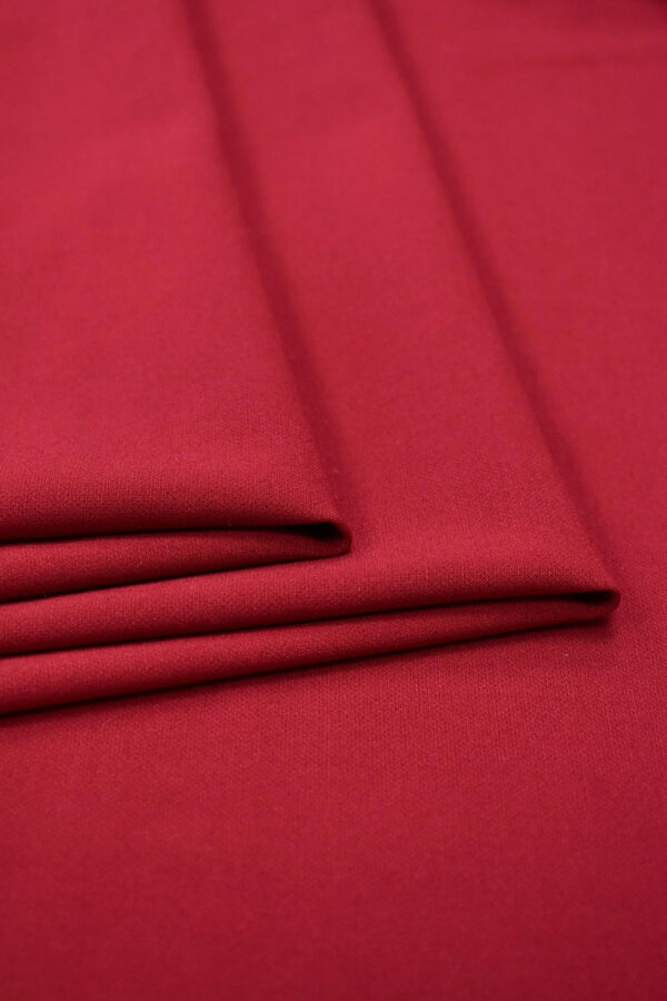 Дабл креп бордовый оттенок (6628) - Фото 7
