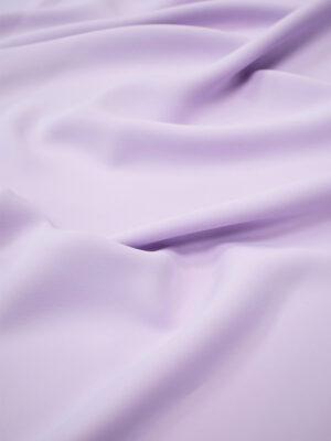 Креп плательный плотный нежно-сиреневый (6682) - Фото 15
