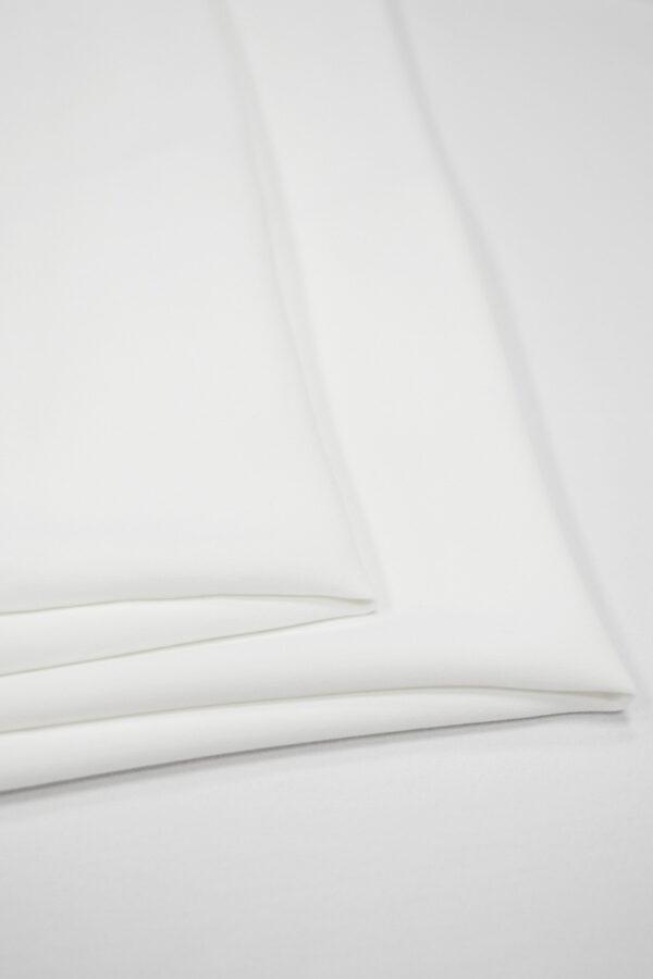 Креп плательный плотный белый (6723) - Фото 7