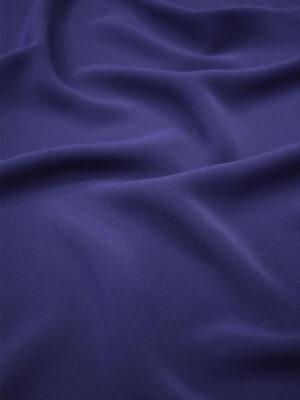 Креп плательный плотный темно-синий (6738) - Фото 14