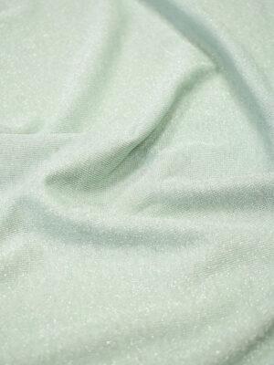 Трикотаж Джерси мятный с люрексом (7027) - Фото 13