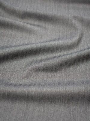 Костюмная шерсть серая в мелкую елочку (7162) - Фото 17