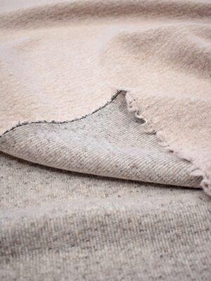 Трикотаж букле шерсть бледно-розовый фактурный (7171) - Фото 18