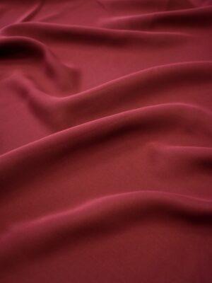 Крепдешин стрейч бордового оттенка (7186) - Фото 12