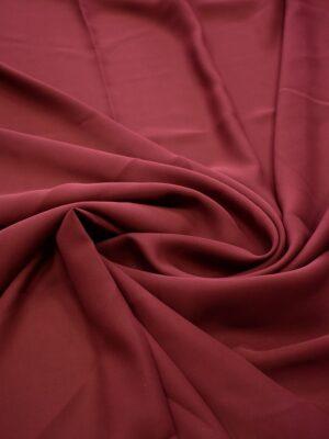 Крепдешин стрейч бордового оттенка (7186) - Фото 13