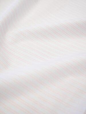 Хлопок рубашечный белый в полоску (7232) - Фото 13