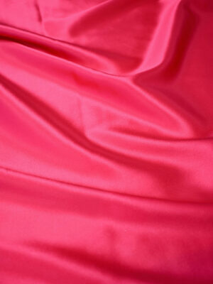 Шелк атласный ярко-розовый глянцевый (7279) - Фото 11