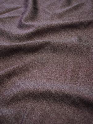 Костюмная шерсть бордовый меланж (7301) - Фото 16