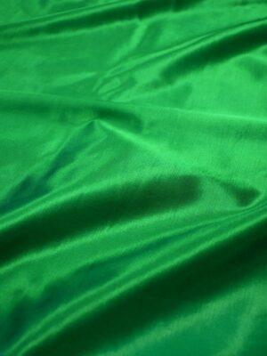 Сатин стрейч зеленый атласный (7322) - Фото 17