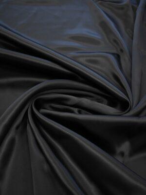 Атлас черный глянцевый плотный (7539) - Фото 11