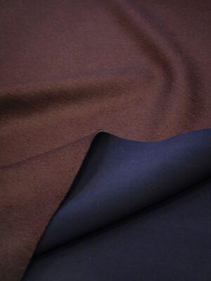 Твид неопрен двухсторонний марсала/темно-синий (7618) - Фото 17
